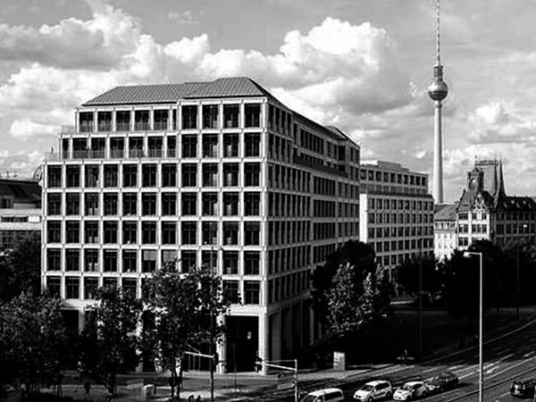 SPITTELMARKT, BERLIN OFFICE BUILDING
