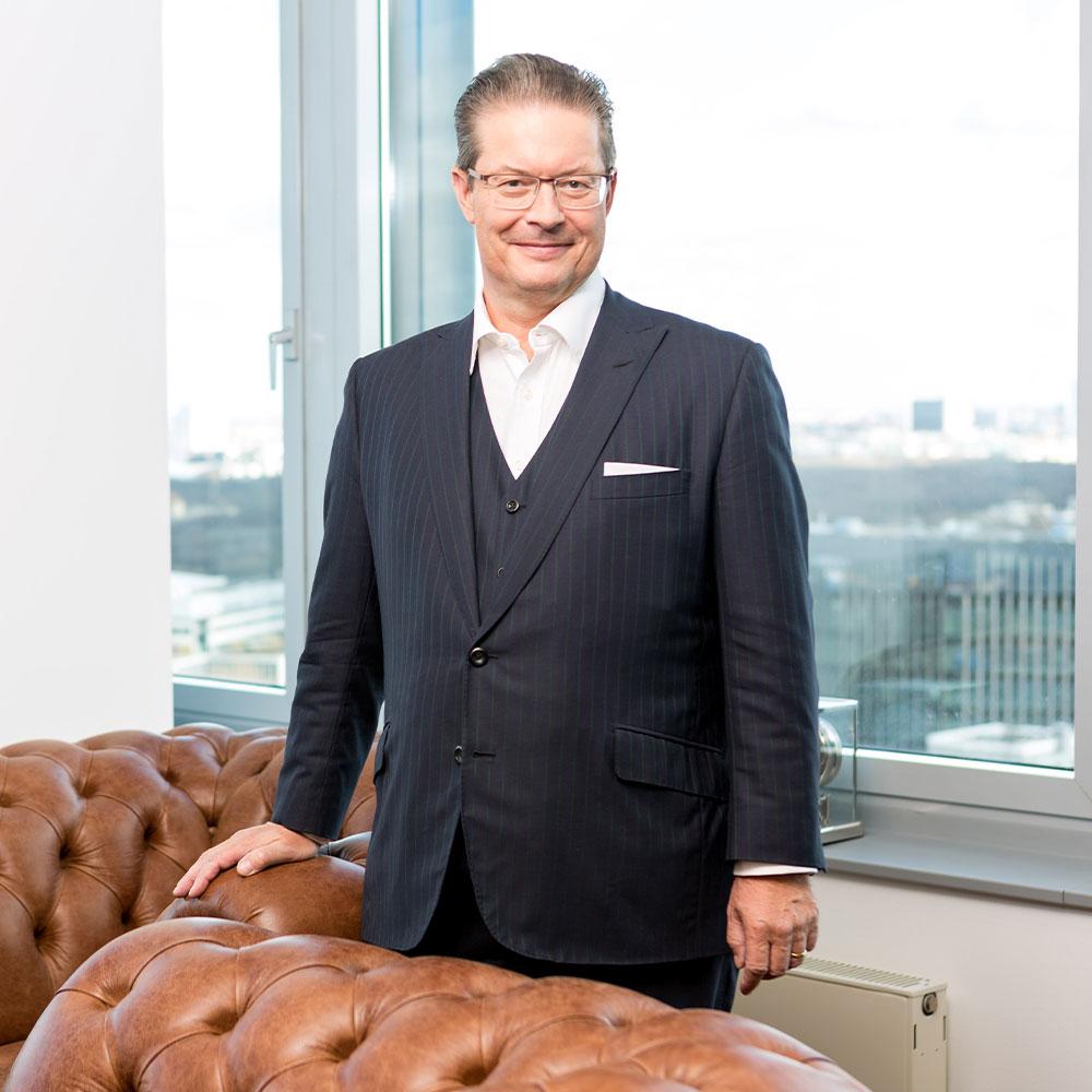 Immobilien-Unternehmer Rainer Schorr